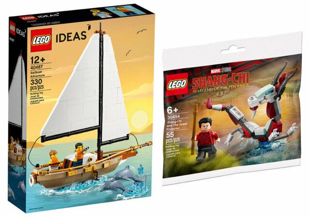 LEGO cadeaux aout 2021