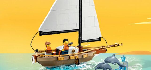 Offert en août 2021 chez LEGO : le set LEGO Ideas 40487 Sailboat Adventure et le polybag Marvel 30454 Shang-Chi