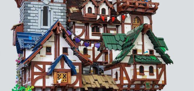 Medieval town LEGO Castle