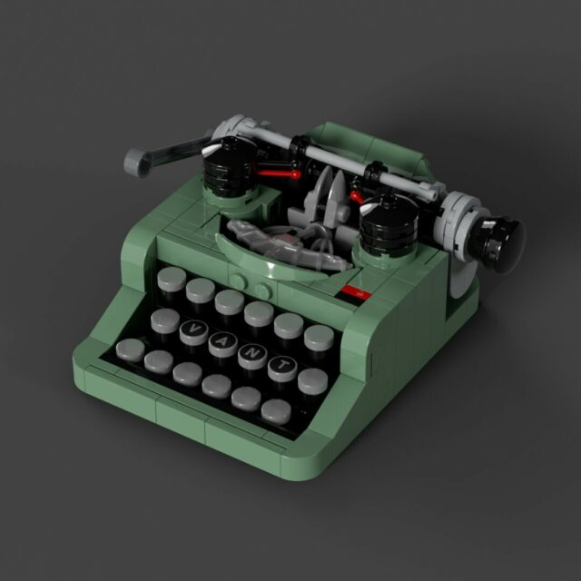 Mini LEGO Ideas 21327 Typewriter