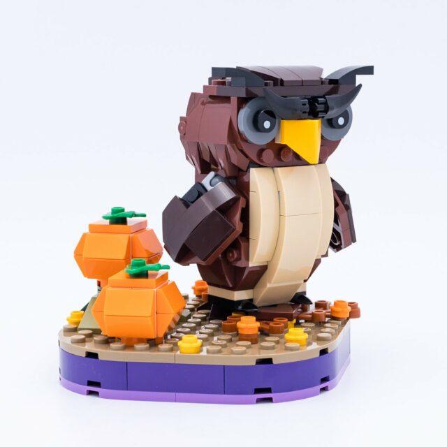Review LEGO Iconic 40493 Halloween Owl