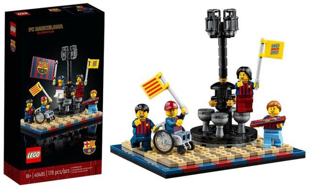 LEGO 40485 FC Barcelone GWP