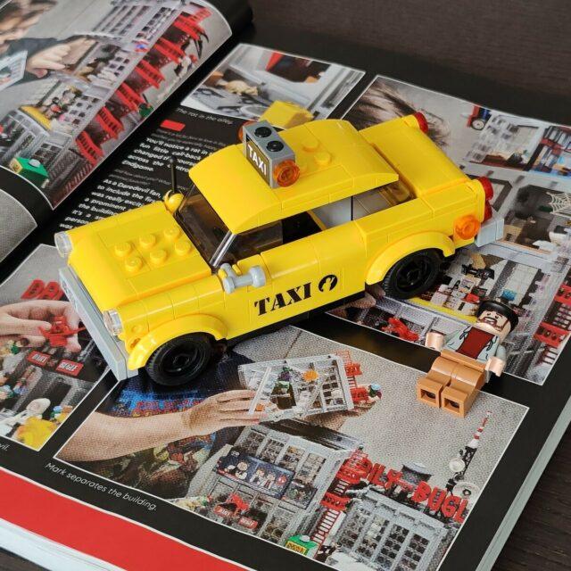 LEGO 76178 Daily Bugle taxi
