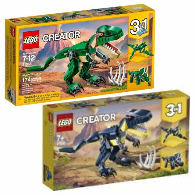 LEGO 77941 31058 Dinosaurs