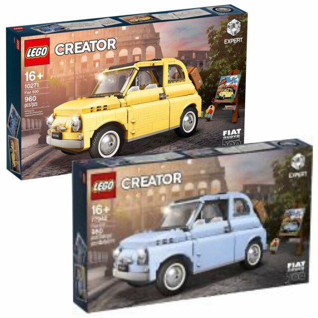 LEGO 77942 10271 Fiat 500