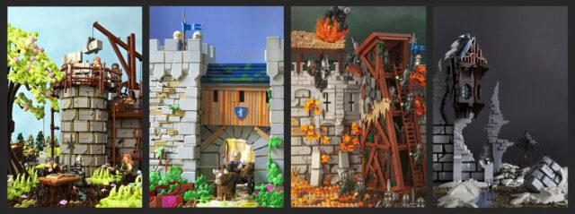 LEGO Castle 4 Seasons