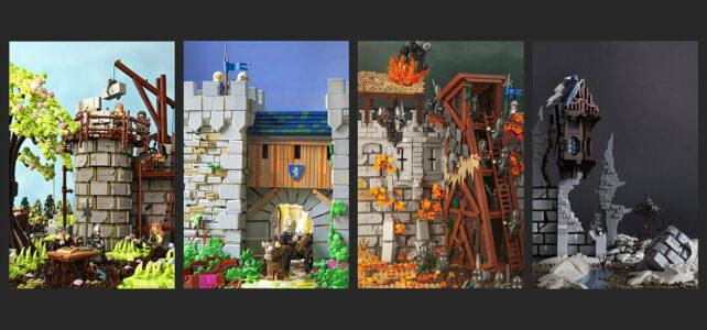 LEGO Castle : les quatre saisons