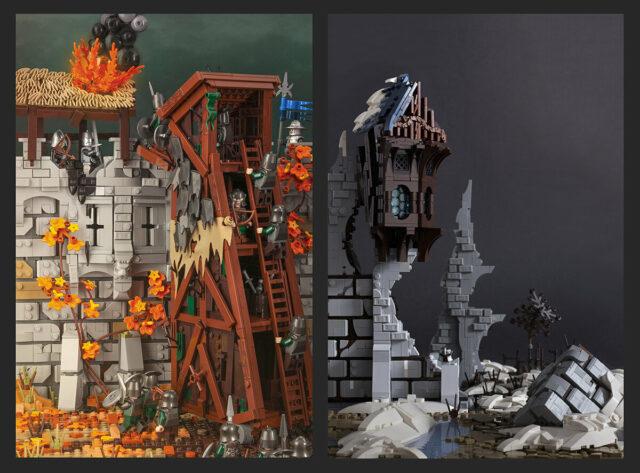LEGO Castle 4 Seasons fall winter