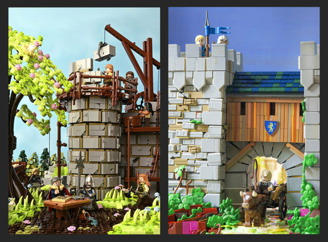 LEGO Castle 4 Seasons spring summer