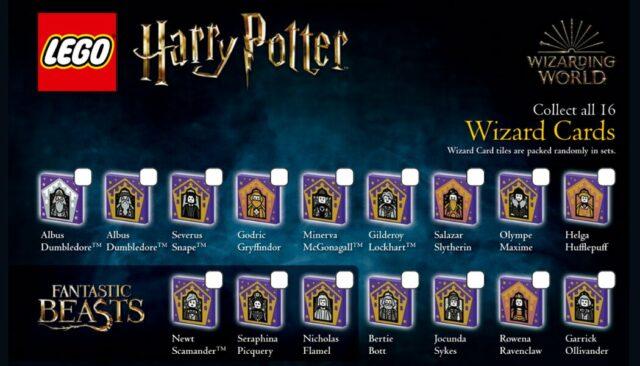 LEGO Harry Potter Chocogrenouilles