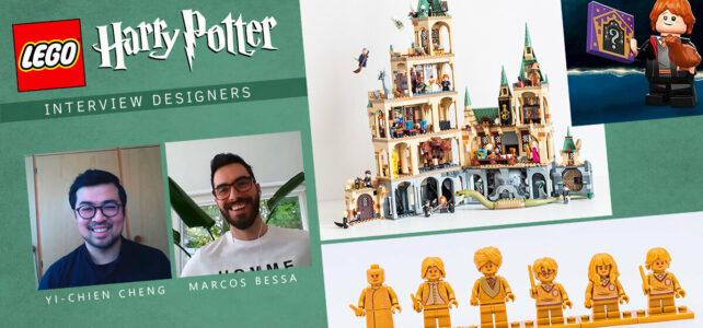 LEGO Harry Potter interview designers 2021