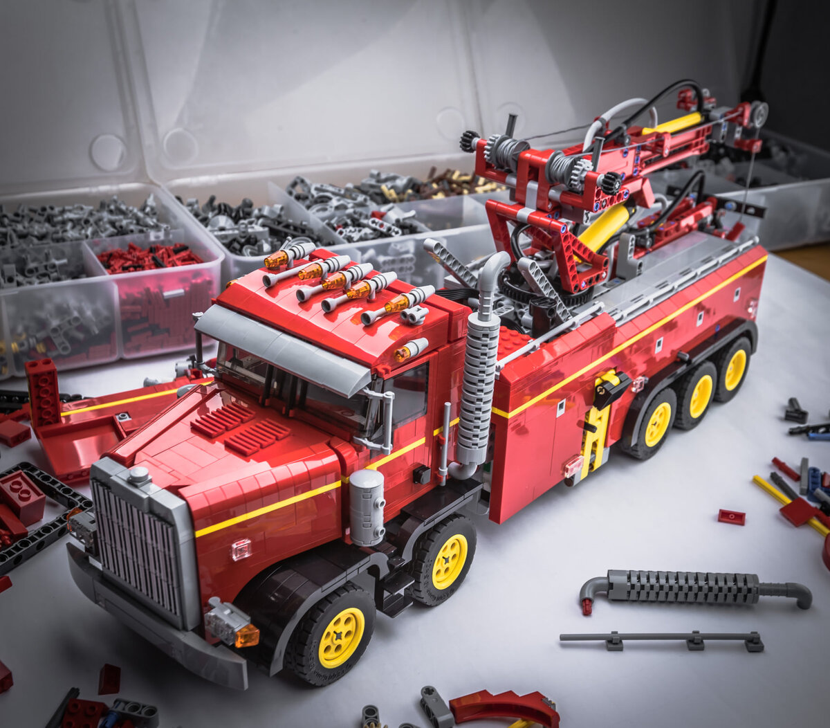 LEGO Heavy-duty Tow-Truck Alexandre Rossier