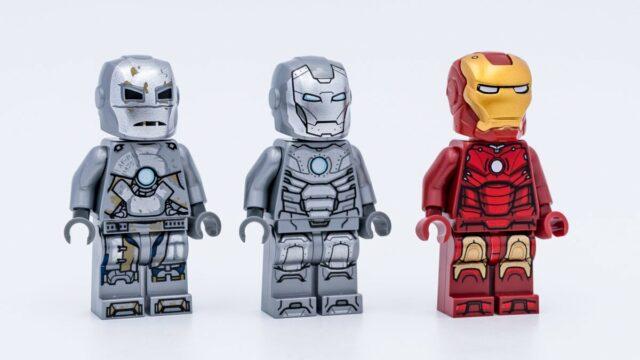 LEGO Iron Man Mark 1 2 3