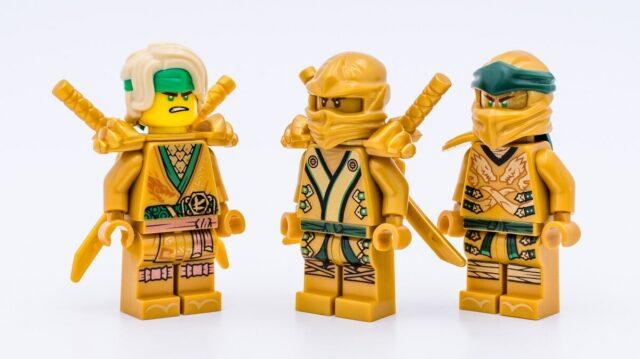 LEGO Ninjago 2021 Golden Lloyd minifigures