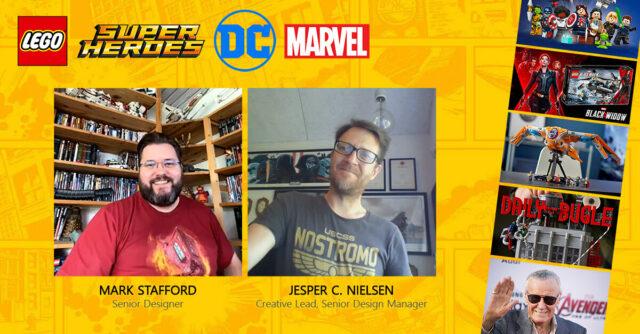 LEGO Super Heroes interview designers 2021