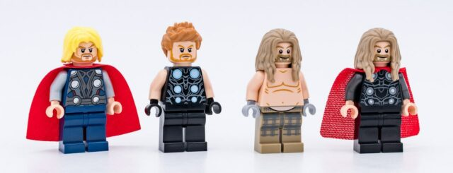 LEGO Thor evolution 2021