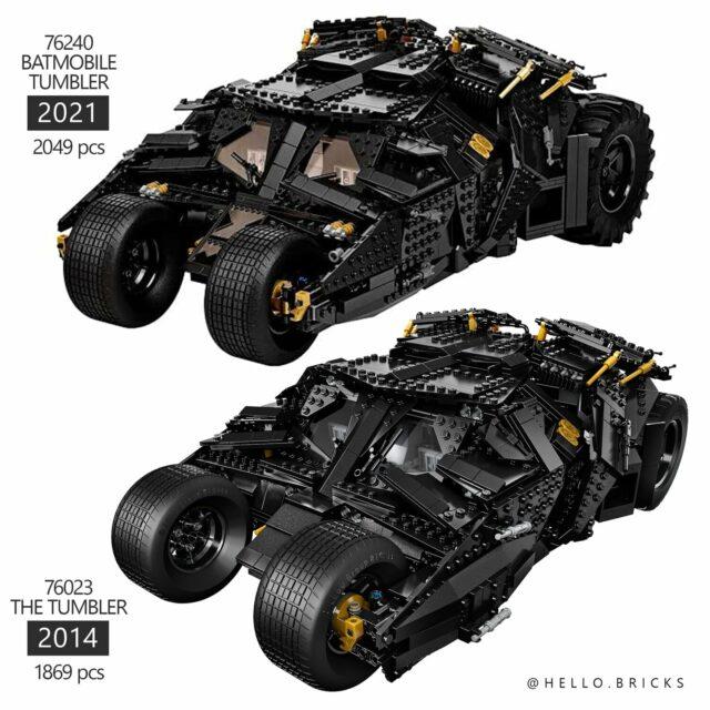 LEGO Tumbler comparison
