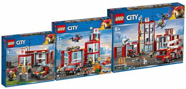 LEGO fire station test