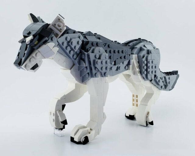 LEGO loup