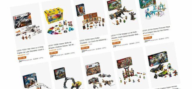 Promo LEGO Amazon offre star