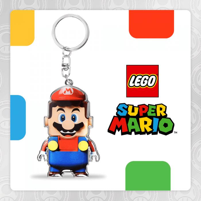 LEGO Super Mario keychain VIP Nintendo
