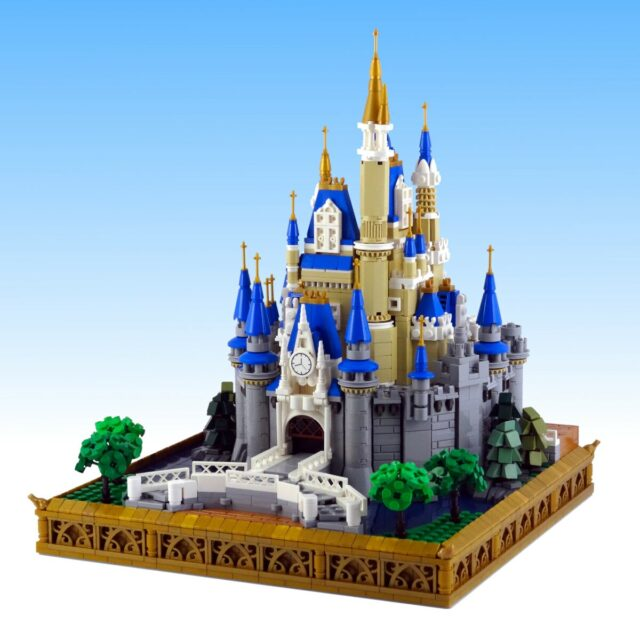 Koen micro LEGO Disney Castle