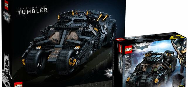 LEGO 76239 76240 Batmobile Tumbler