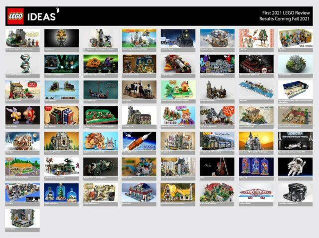 LEGO Ideas 2021 phase 1
