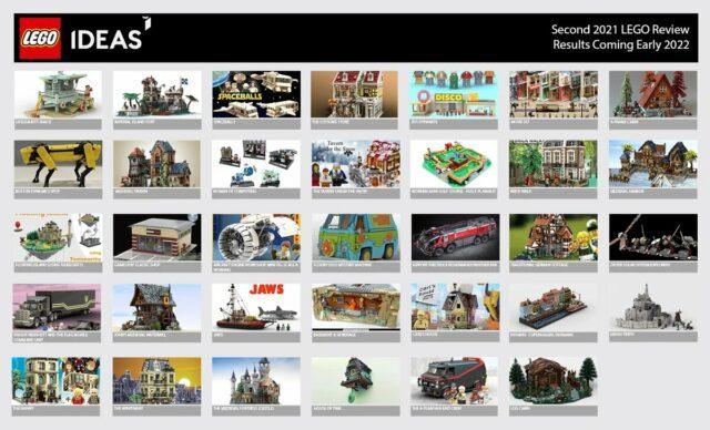 LEGO Ideas 2021 phase 2