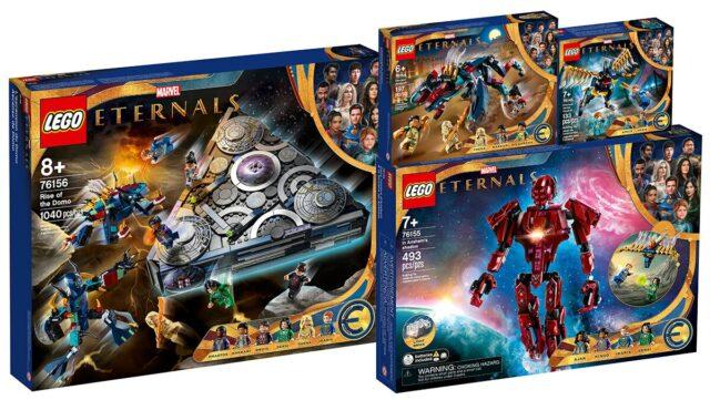 LEGO Marvel Eternals 2021