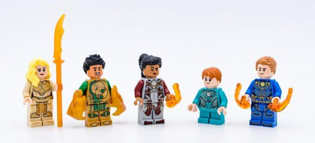 LEGO Marvel Eternals 76145 76154 minifigures