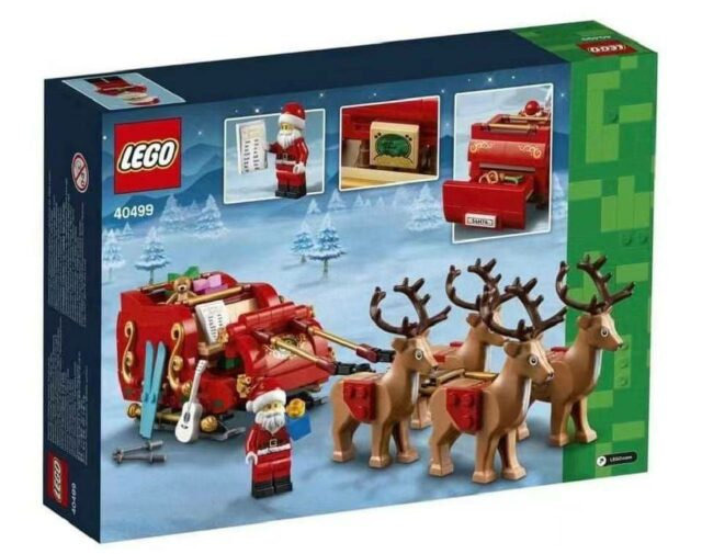 LEGO Seasonal 40499 Santa's Sleigh