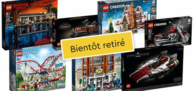 LEGO bientot retirés 2021