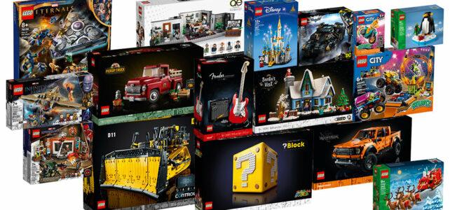Nouveautés LEGO octobre 2021
