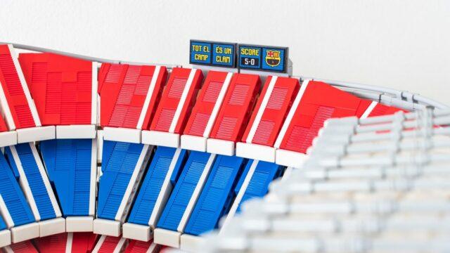 Review LEGO 10284 Camp Nou FC Barcelona