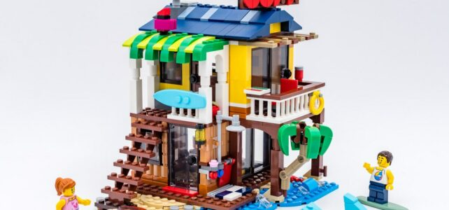 Review LEGO Creator 31118 Surfer Beach House