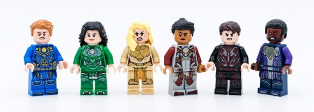 Review LEGO Marvel 76156 The Eternals