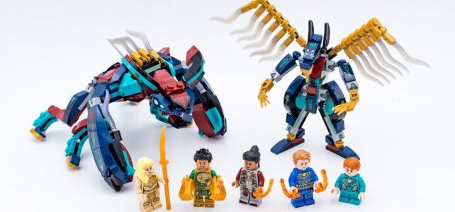 Review LEGO Marvel Eternals 76145 76154