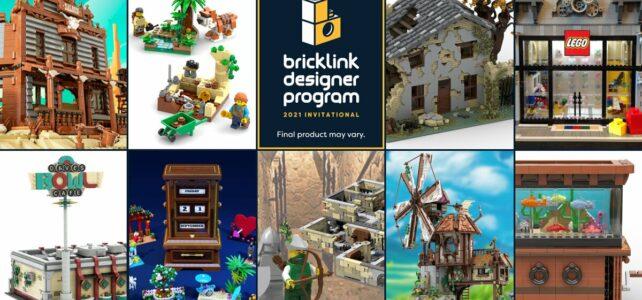 Bricklink Designer Program LEGO Ideas round 2