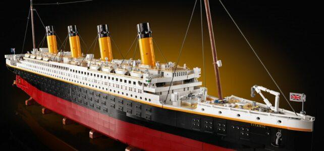 Nouveauté LEGO 10294 Titanic : l'annonce officielle !