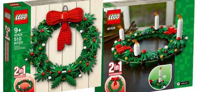 LEGO 40426 Christmas Wreath