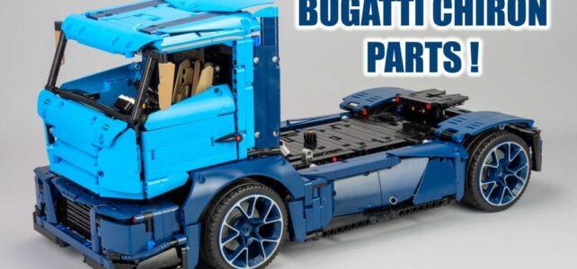 LEGO Technic 42083 Bugatti Chiron Model B : Race Truck