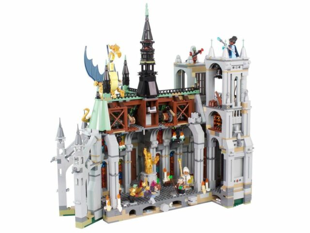 LEGO Cathédrale MOC
