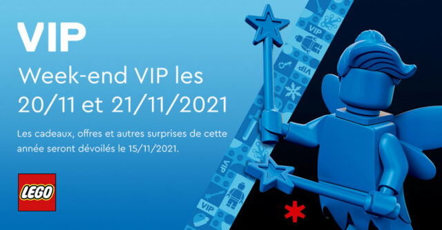 LEGO VIP week-end 2021