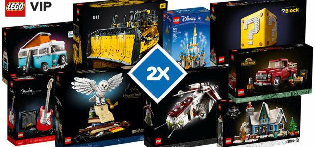 LEGO VIP x2 octobre 2021