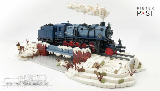 LEGO train locomotive G12