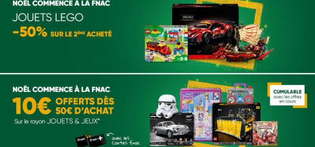 Promo LEGO Fnac Noel 2021